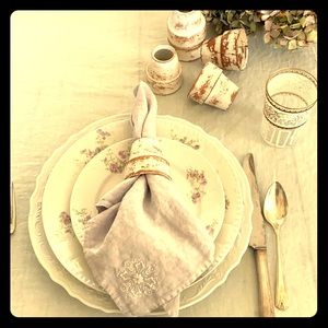 Shabby chic style, french country napkin holders